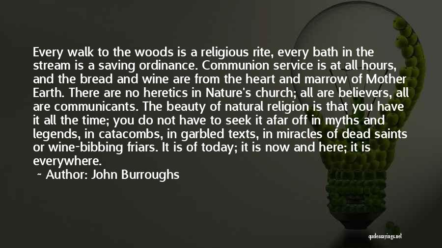 Beauty In The Heart Quotes By John Burroughs