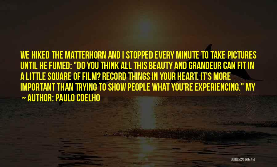 Beauty In The Heart Quotes By Paulo Coelho