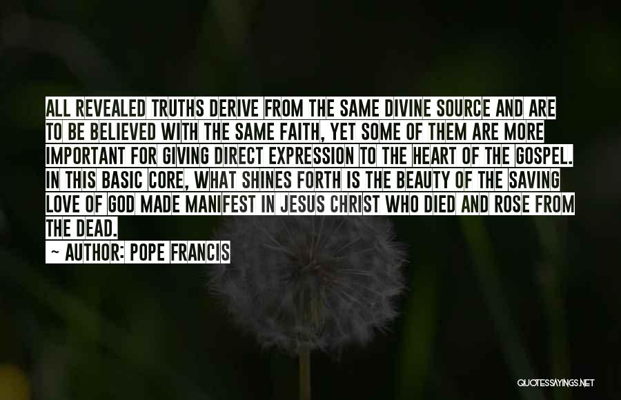 Beauty In The Heart Quotes By Pope Francis