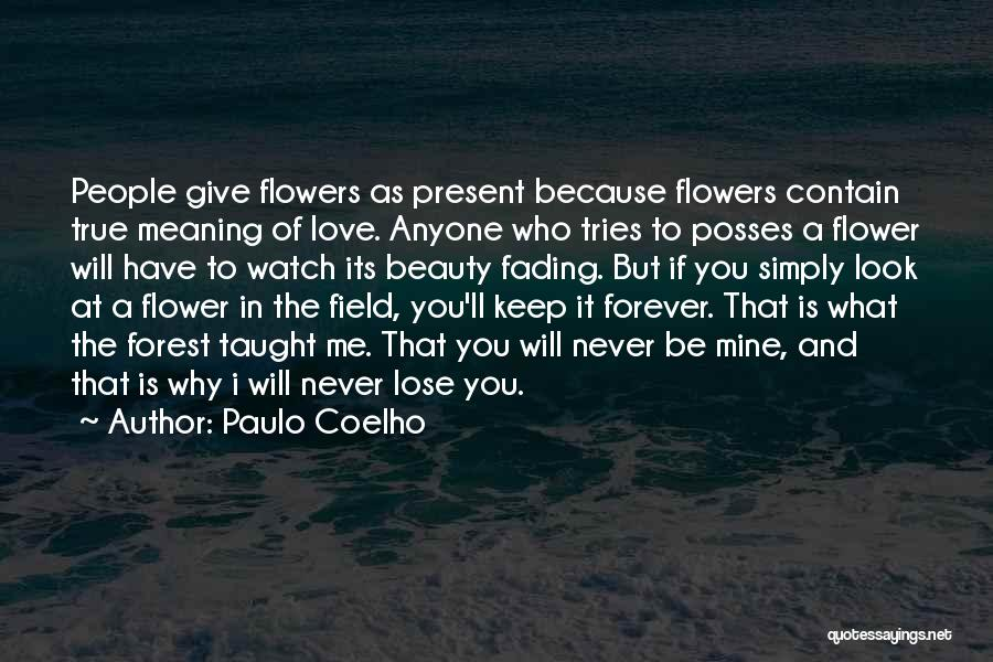 Beauty Is Not Forever Quotes By Paulo Coelho
