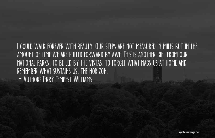 Beauty Is Not Forever Quotes By Terry Tempest Williams