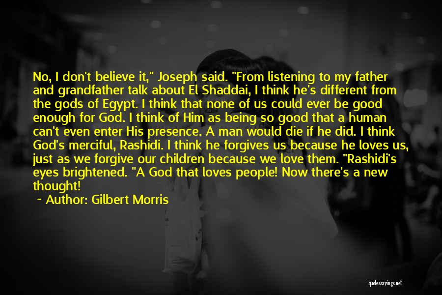 Because I Said So Love Quotes By Gilbert Morris