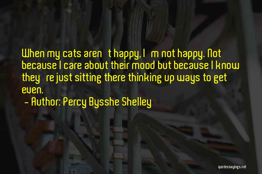 Because I'm Happy Quotes By Percy Bysshe Shelley