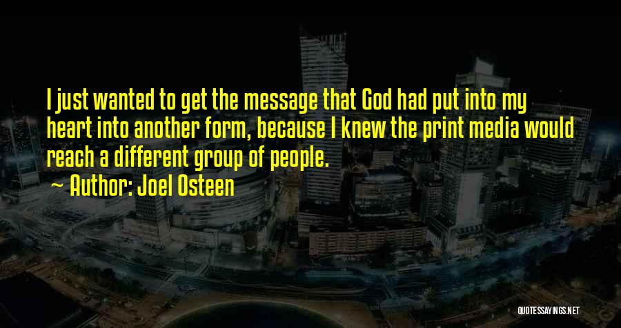 Because Of God Quotes By Joel Osteen
