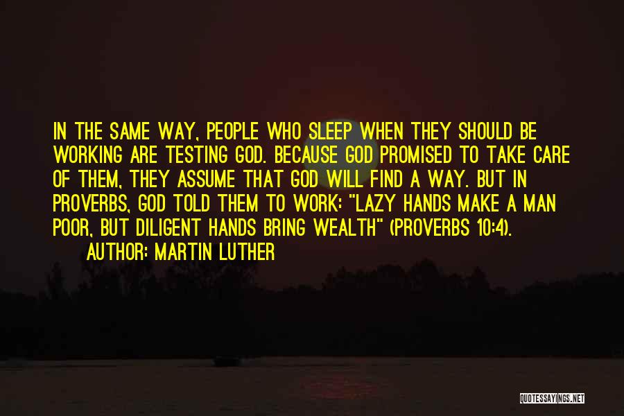 Because Of God Quotes By Martin Luther