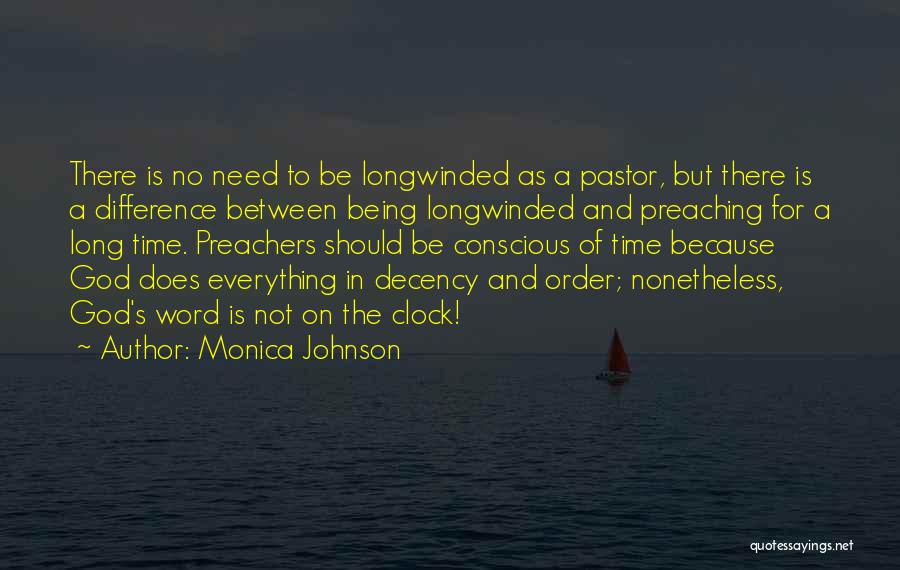 Because Of God Quotes By Monica Johnson