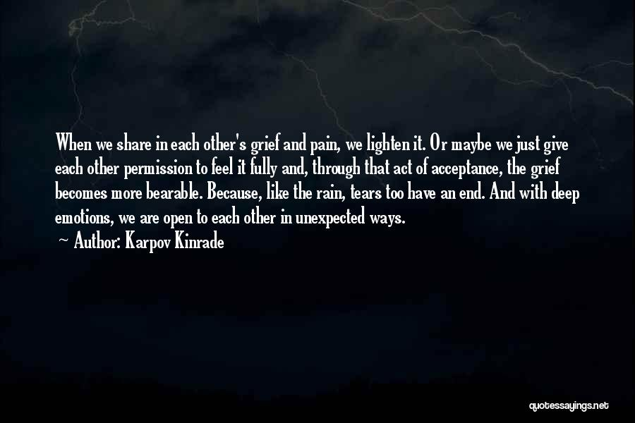 Because We Love Each Other Quotes By Karpov Kinrade