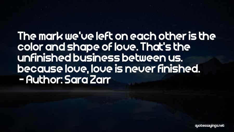 Because We Love Each Other Quotes By Sara Zarr