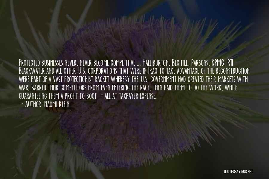 Bechtel Quotes By Naomi Klein