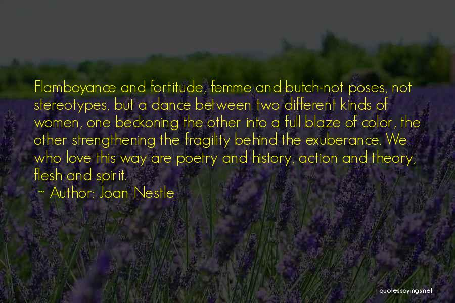 Beckoning Quotes By Joan Nestle