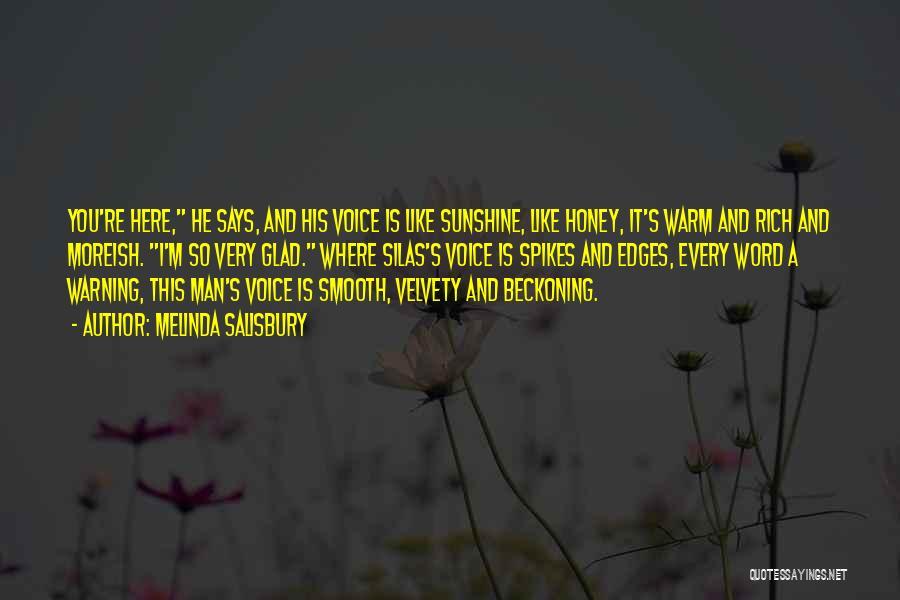 Beckoning Quotes By Melinda Salisbury