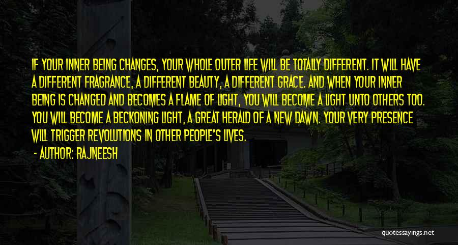 Beckoning Quotes By Rajneesh