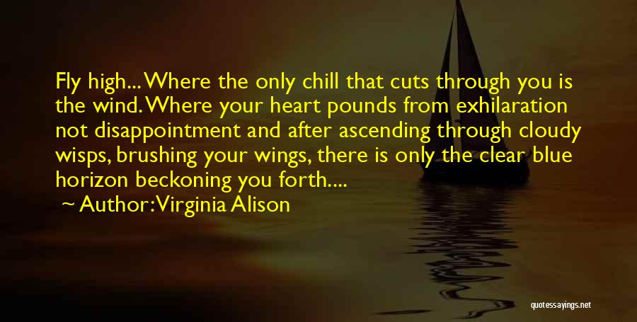 Beckoning Quotes By Virginia Alison
