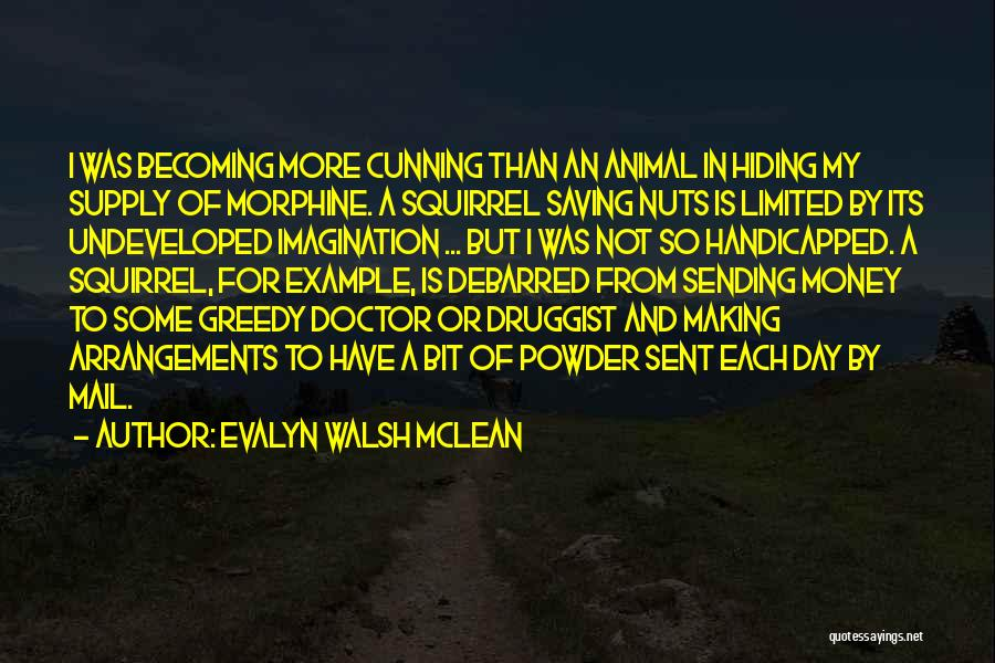 Becoming A Doctor Quotes By Evalyn Walsh McLean