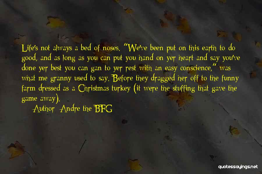 Bed Rest Quotes By Andre The BFG