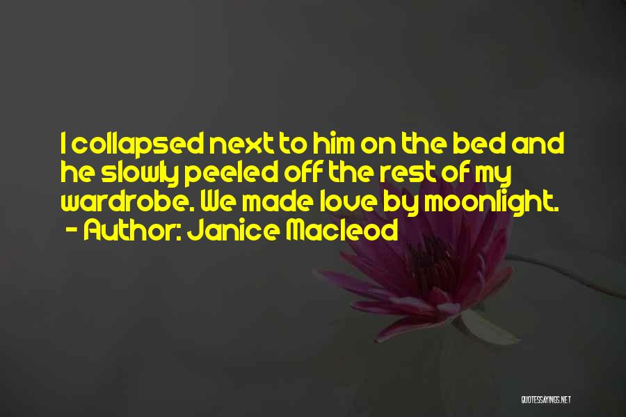 Bed Rest Quotes By Janice Macleod