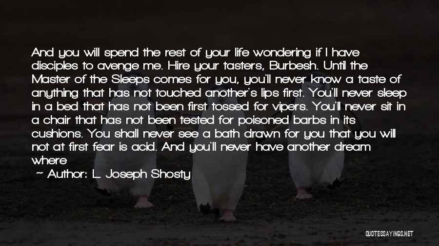 Bed Rest Quotes By L. Joseph Shosty