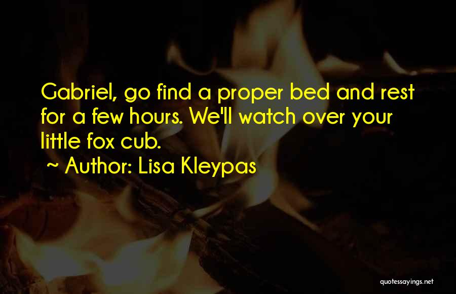Bed Rest Quotes By Lisa Kleypas