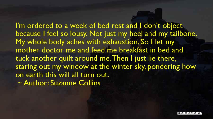 Bed Rest Quotes By Suzanne Collins