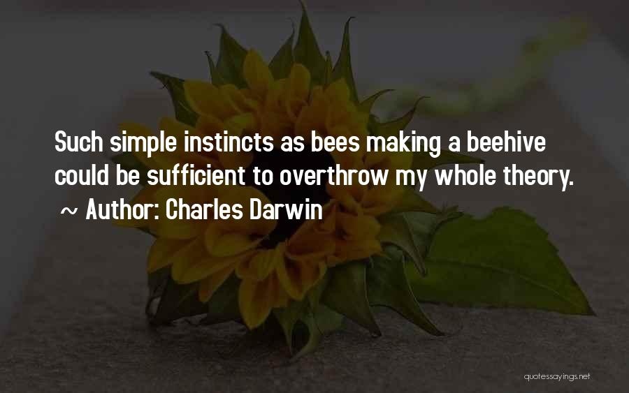 Beehive Quotes By Charles Darwin