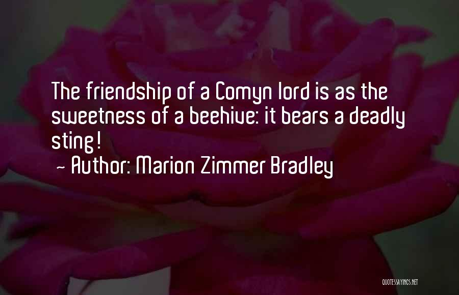Beehive Quotes By Marion Zimmer Bradley