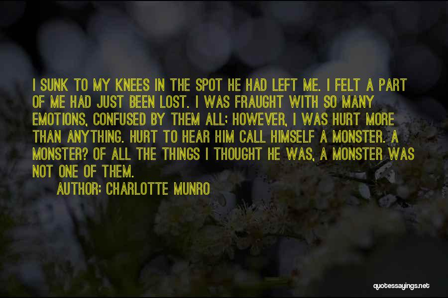 Been Hurt By Love Quotes By Charlotte Munro