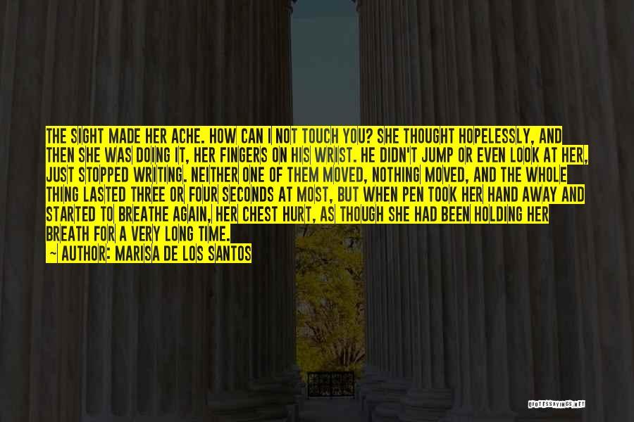Been Hurt By Love Quotes By Marisa De Los Santos