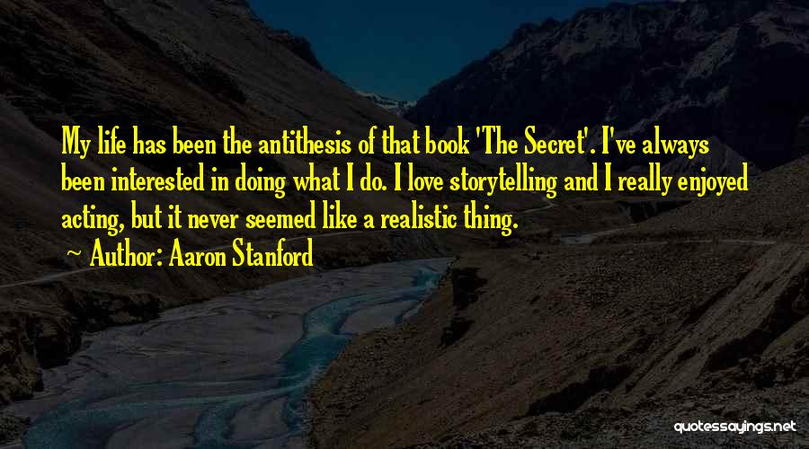 Been In Love Quotes By Aaron Stanford