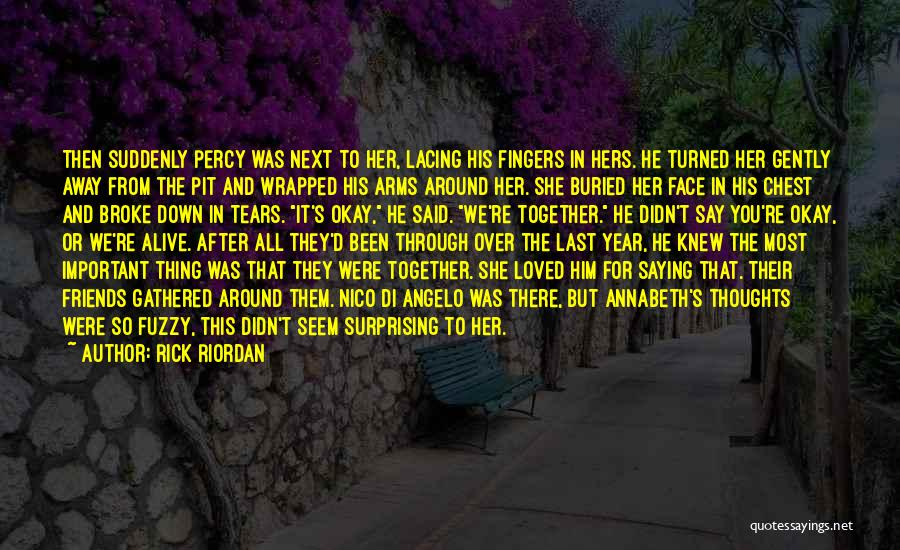 Been Together One Year Quotes By Rick Riordan