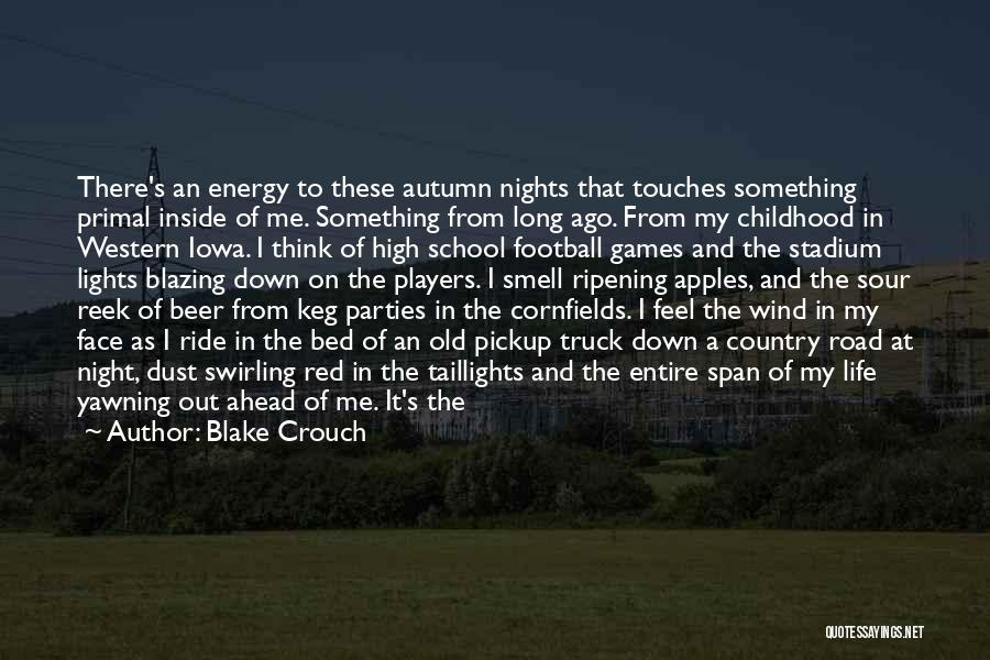 Beer Keg Quotes By Blake Crouch