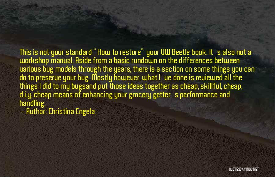 Beetle Bug Quotes By Christina Engela