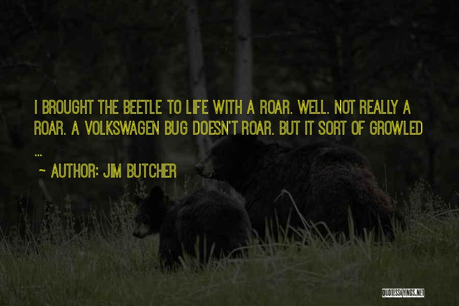 Beetle Bug Quotes By Jim Butcher