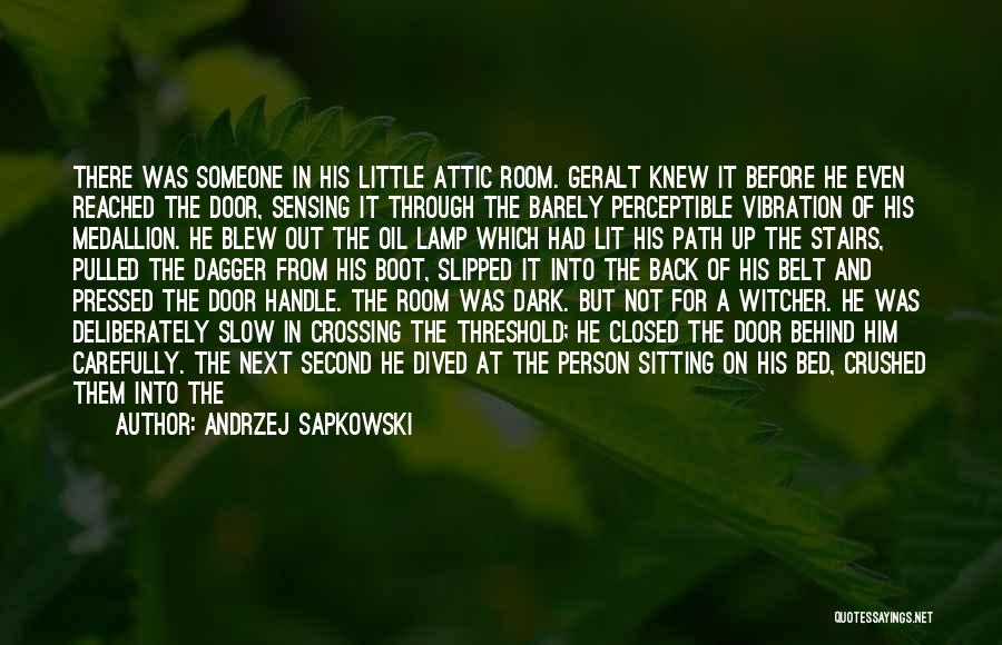 Before Bed Quotes By Andrzej Sapkowski