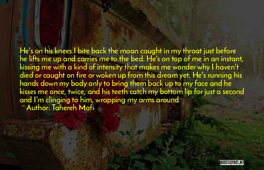Before Bed Quotes By Tahereh Mafi