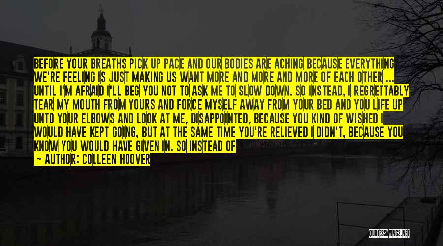 Before Going To Bed Quotes By Colleen Hoover