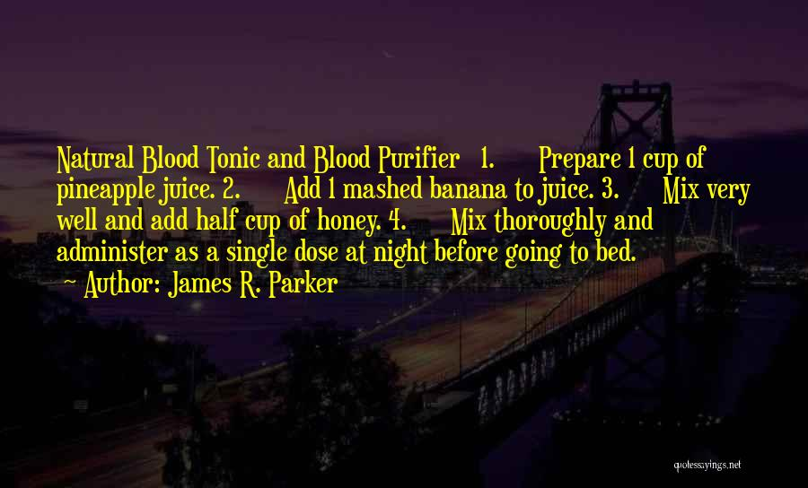 Before Going To Bed Quotes By James R. Parker