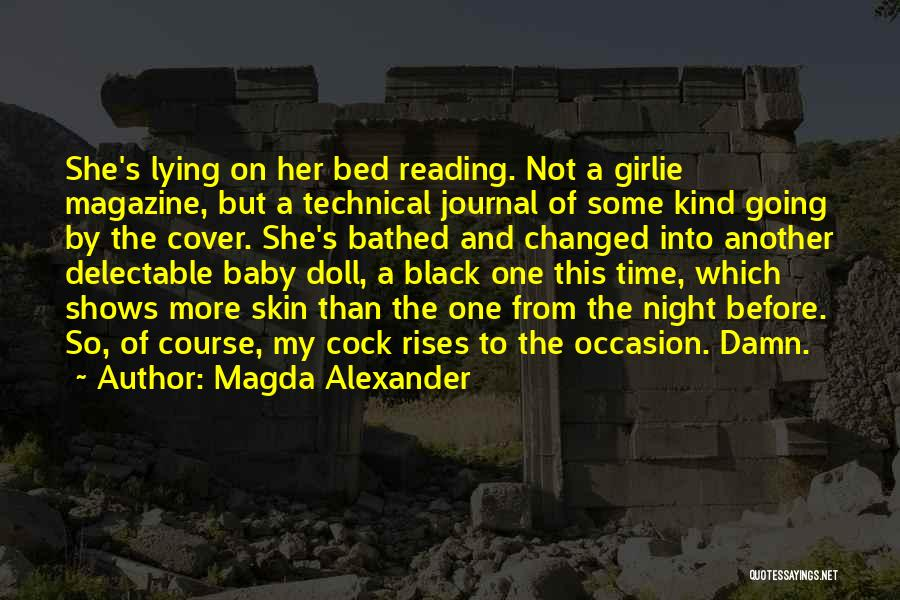 Before Going To Bed Quotes By Magda Alexander