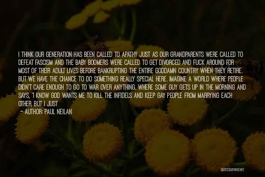 Before Going To Bed Quotes By Paul Neilan