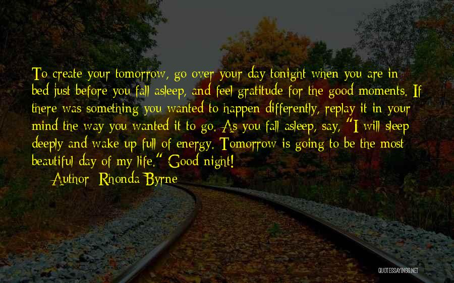 Before Going To Bed Quotes By Rhonda Byrne
