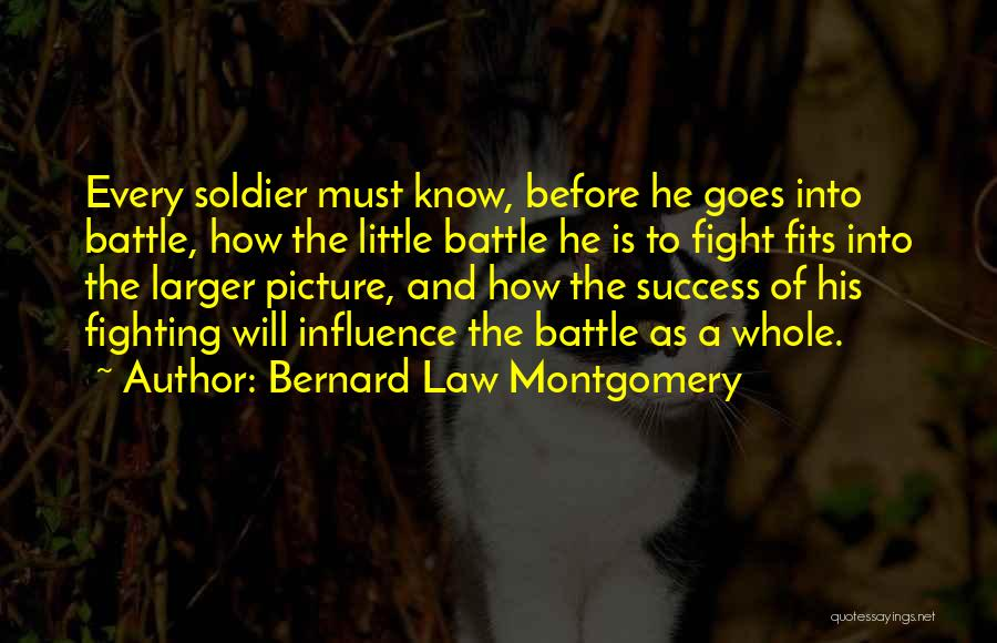 Before The Battle Quotes By Bernard Law Montgomery