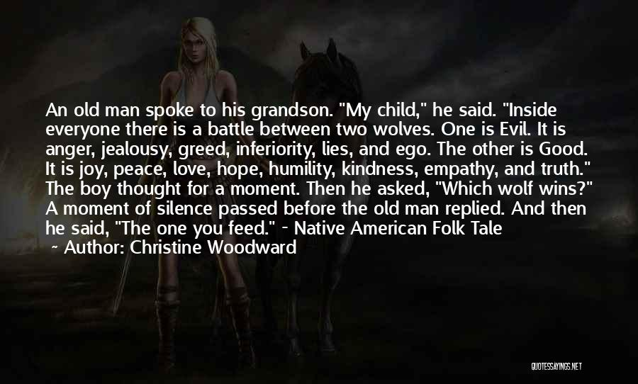Before The Battle Quotes By Christine Woodward
