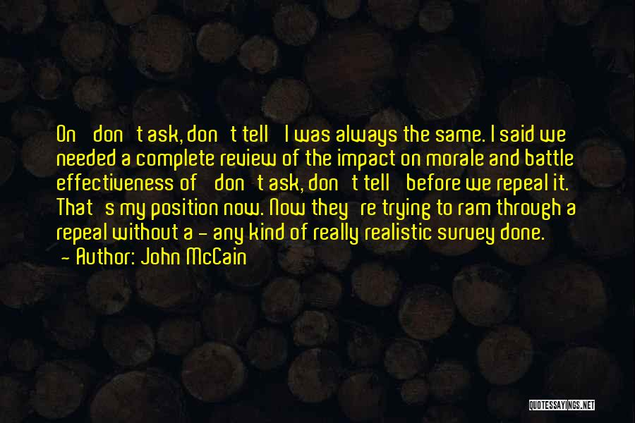 Before The Battle Quotes By John McCain
