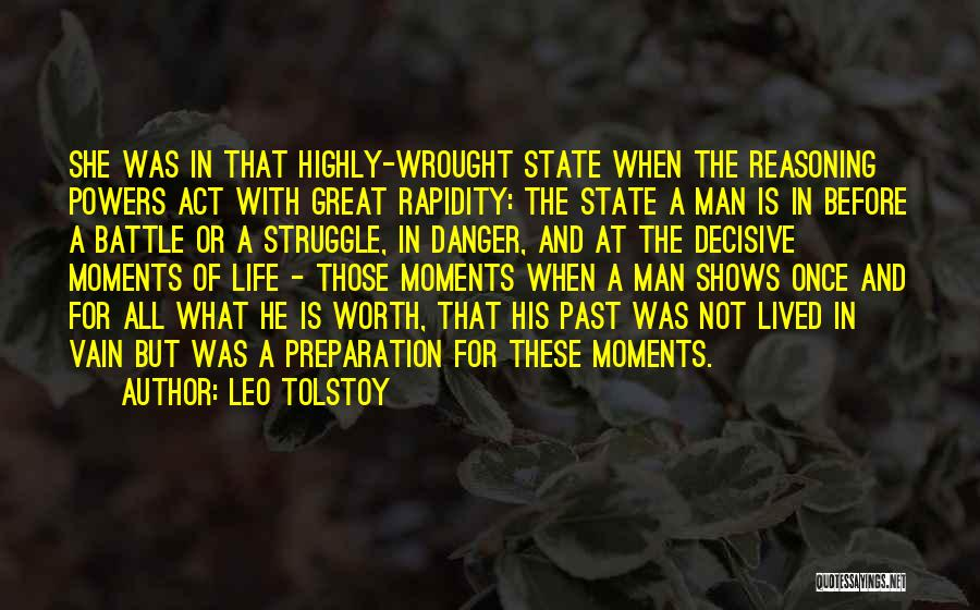 Before The Battle Quotes By Leo Tolstoy