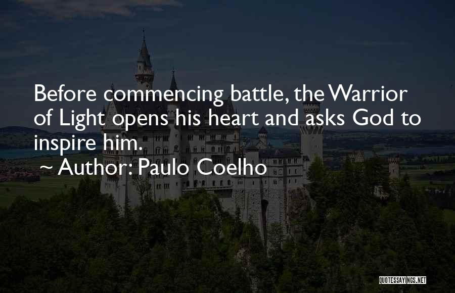 Before The Battle Quotes By Paulo Coelho