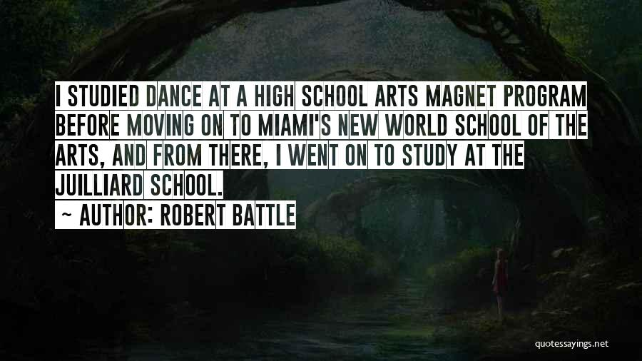 Before The Battle Quotes By Robert Battle