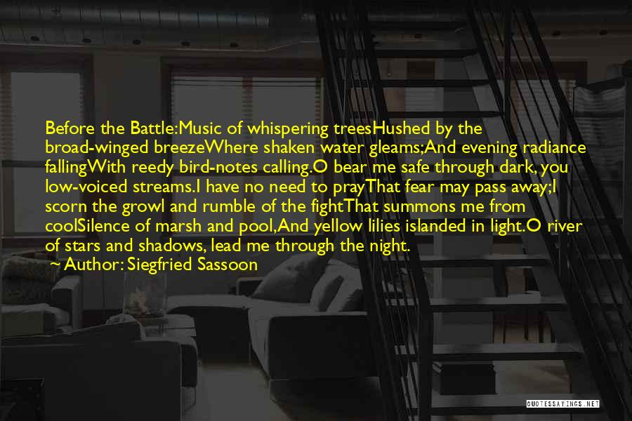 Before The Battle Quotes By Siegfried Sassoon