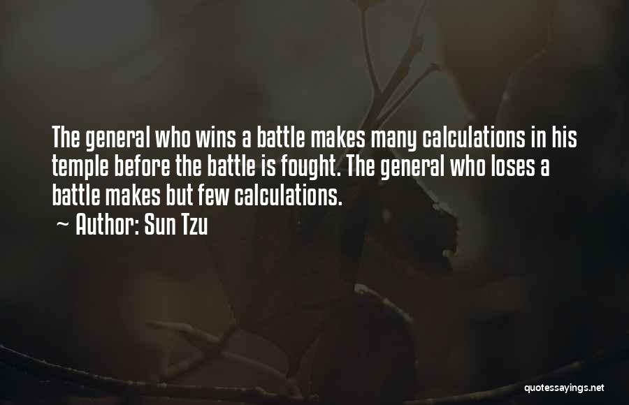 Before The Battle Quotes By Sun Tzu