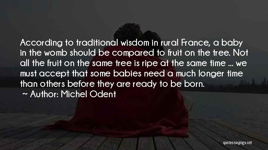 Before You Were Born Baby Quotes By Michel Odent