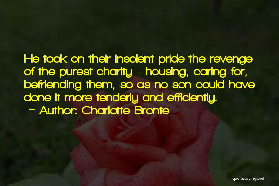 Befriending Yourself Quotes By Charlotte Bronte