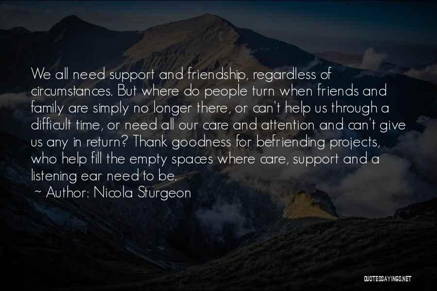 Befriending Yourself Quotes By Nicola Sturgeon
